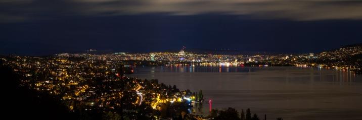 View to Zurich from Horgen