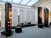 Huge Wilson Benesch Loudspeakers